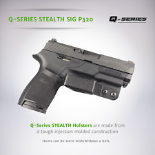 Q-Series IWB Minimalist Concealed Carry Stealth Holster Sig Sauer P320 P320-X