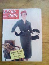 ECHO DE LA MODE N°52 1955