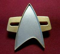 Star Trek PICARD Uniform Combadge Communicator Pin Com Badge Costume Cosplay