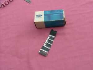 1968 Ford Galaxie 500 trunk extension moulding, LH, NOS! finish panel trim