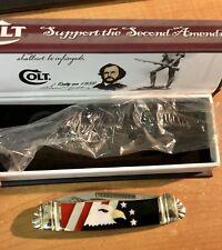 Samuel Colt 2nd Amendment Trapper CT714 Knife