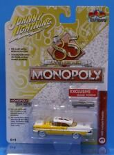 JOHNNY LIGHTNING 1:64 POP CULTURE MONOPOLY with Game Piece 1957 LINCOLN PREMIER