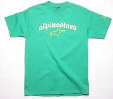 Alpinestars A Logo Championship Tee (S) Green