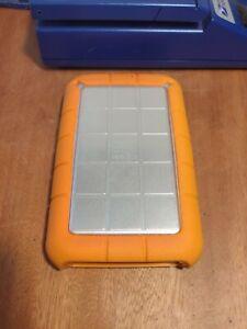 LaCie Rugged 500GB Firewire 800/400 USB 2.0 Portable External Hard Drive RUGFWSA