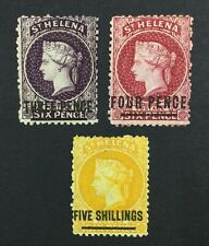 MOMEN: ST HELENA SG # P12.5 CROWN CC UNUSED £330 LOT #5134