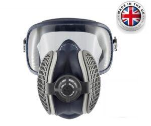 GVS Integra Safety Anti Fog Goggle & Half Respirator Mask P3RD, Small/Medium