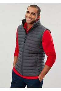 Joules Go To Lightweight Padded Gilet in Grey Metal