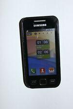 Samsung Wave GT-S5250 - Metallschwarz (Ohne Simlock) Smartphone
