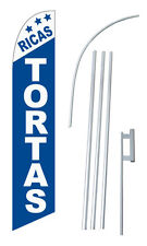 Ricas Tortas Windless Swooper Flag Kit