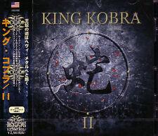 KING KOBRA II + 1 JAPAN CD Paul Shortino Carmine Appice Rough Cutt Cactus 2013