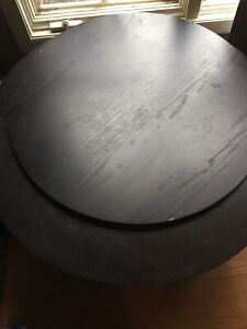 Round Coffee Table Wood Living Room Tables With Storage. LOCAL PICKUP ONLY