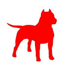 Pit Bull Vinyl Decal Car Window Laptop American Pit Bull Terrier Sticker