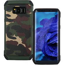 Custodia cover militare Mimetica navy camouflage per Samsung Galaxy S8 G950F