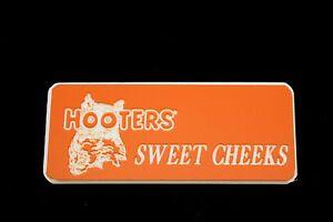 Hooters Uniform Sweet Cheeks Name Tag Nametag Waitress Bartender Badge Pin