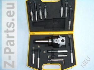 Bohrkopf / Ausdrehkopf Set 75mm MK 3 / M 12 mit Aufbewahrungskoffer und Zubehör