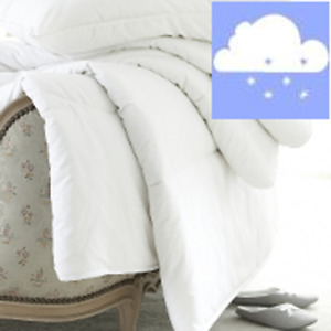 Winter Wool Duvet - White Cloud King Size