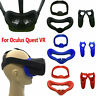 Per Oculus Quest VR Eye Mask Cover Silicone Sun Hood Anti-sweat Light Blocking