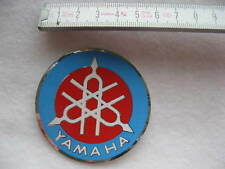Abziehbild Vintage Aufkleber Markenzeichen Silberfolie YAMAHA NEU
