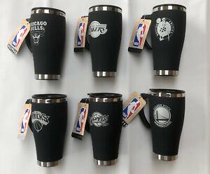 Thermal Travel Mug Insulated Coffee Flask - Official NBA Basketball 450mL