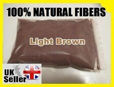 25g 100% Natural Keratin Hair Fiber - PREMIUM QUALITY - LIGHT BROWN