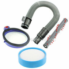Grey Hoover Hose & Pre / Post Filter Brushroll Kit for DYSON DC25 Vacuum Cleaner