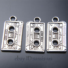 20 pieces 23mm Radio Tape Pendant Charms Tibetan Silver DIY Jewelry A7450