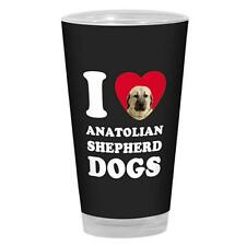 Tree-Free Greetings I Heart Anatolian Shepherd Dogs Artful Alehouse Pint Glass,