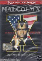 Dvd **MALCOLM X** di Spike Lee con Denzel Washington usato 1993
