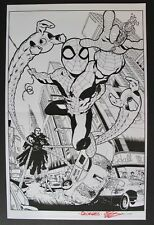 Signed Limited Print Spider-Man Doctor Octopus Georges Jeanty 31/100 Spiderman