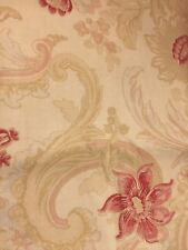 Laura Ashley 2.6 metres of Baroque Red Parchment Curtain Fabric