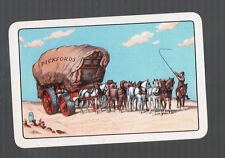 Playing Swap Cards 1 VINT TEAM OF HORSES & WAGON MOVING BY PICKFORDS  W493