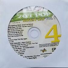 70'S KARAOKE CDG POP HOTTEST HITS CHARTBUSTER ESP464-04 - TOM JONES,CARPENTERS,