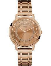 Authentic GUESS Ladies' Montauk Watch Rose Gold Tone W0933l3