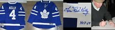 "LEN ""RED"" KELLY SIGNED AUTOGRAPHED TORONTO MAPLE LEAFS FANATICS LICENSED JERSEY"
