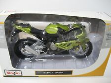 Maisto 1:12 BMW S1000RR Motorcycle Green