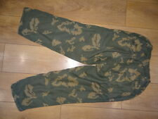USSR Soviet army military camo BEREZKA KZC pants KGB border guard 1981