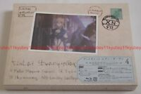Violet Evergarden Vol.4 First Limited Edition Blu-ray Booklet Post Card Japan