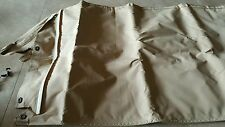TAN TWO MAN SOFT TOP GREAT CONDITION FITS HMMWV H1 MILITARY HUMMER PN#12340736-8