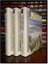 Lord Of The Rings Trilogy by Tolkien Sealed Hardcover Box Set Towers Return King