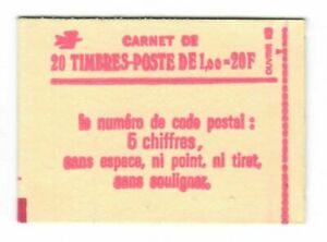 s24433) FRANCE 1977 MNH** Fr.1,00(x20) Booklet opened #L1972b