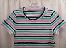 Women's J Crew Striped T Shirt XL
