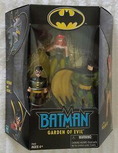 BATMAN GARDEN OF EVIL BATMAN AND ROBIN VS POISON IVY 3 PACK K-MART EXCLUSIVE