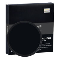 ZOMEI 52/58/67/72/77/82mm HD ND1000 MC Glass Neutral Density Filter