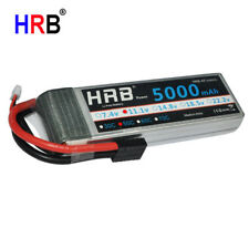 HRB 11.1V 3S 5000mAh Lipo Battery 50C-100C for RC Traxxas Slash 4x4 Car E-REVO