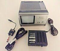 Vintage Hitachi Portable Television TV K-2200 Tested RARE