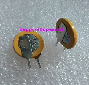 5 PCS x New Tabbed 3V CR1220 Battery Coin Cell Button With 2 Solder Pins