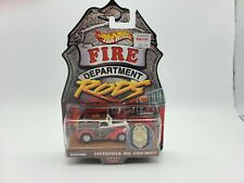 Hot Wheels Fire Department Rods Anglia Panel Series 2 #9/12 Pittsfield, MA