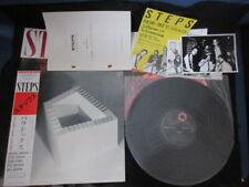 Steps Paradox Live at Seventh Japan Promo Vinyl LP w Press Photo Michael Brecker