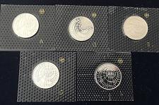 "5 x 10 DM 1999 ""50 Jahre SOS Kinderdörfer""  ""PP"" Noppenblister Silber 925/-"