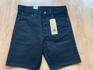Mens Vintage Levis 501 Denim Shorts  Jeans  NEW BLACK